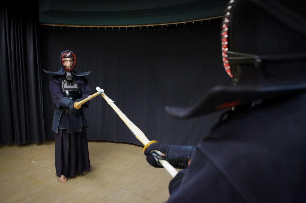 Ryûtôkai ry – Kendo-näytös