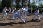 Capoeira Boa Vontade Lounaispuistossa, Kuva: Johanna Kuikka