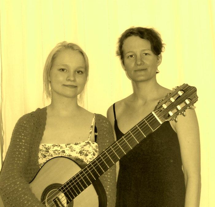 Renessanssimusiikkia: Tiina Savolainen ja Ann-Marie Hakulinen
