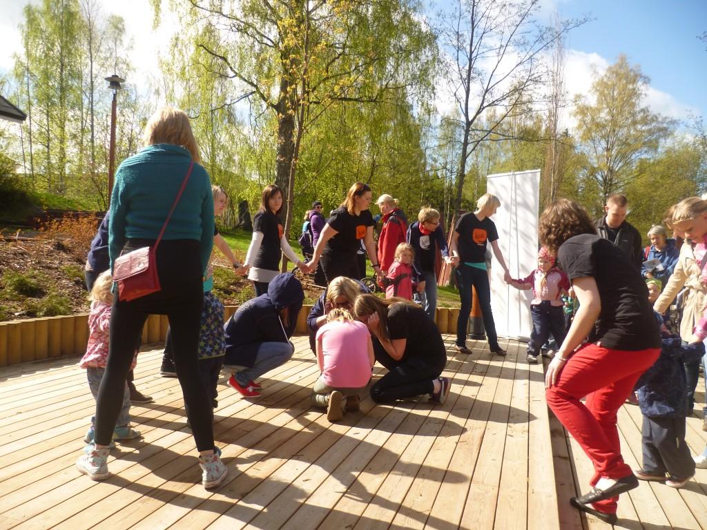 Jyväskylän yliopiston kielikampuksen kielisuihku lapsille