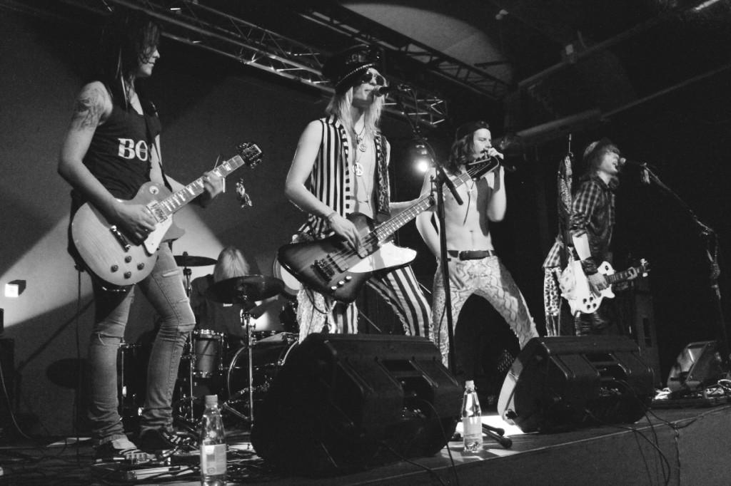 The Lazy Jets, rock & roll